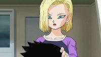N°18 rasant la tête de Kuririn