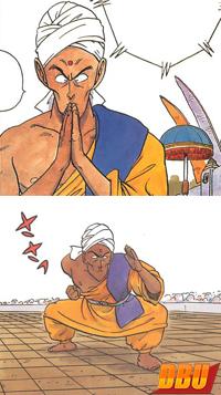 Nam dans les pages couleurs du manga (chapitre 044)
