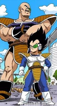 Nappa arrive sur Terre (manga couleur)