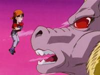 Pan permet à Gokū de retrouver ses esprits