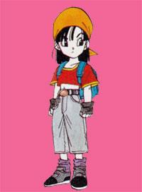 Pan dans Dragon Ball GT (par Akira Toriyama)