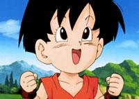 Pan, âgée de 4 ans, dans l'anime