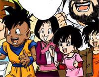Pan dans le manga Neko Majin Z