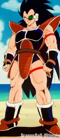 Raditz, dans la version anime