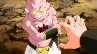 Xeno Majin Dābura tente de s'emparer de sa Dragon Ball sombre