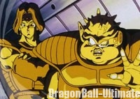 Zarbon et Dodoria assistent à l'explosion de la planète Vegeta