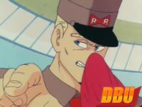 Le général Blue est le premier rôle de Toshio Furukawa dans DB