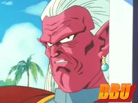 La première réplique de Kibito dans Dragon Ball Z