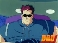 1ère apparition du Sergent Metallic (Shin Aomori) dans DB