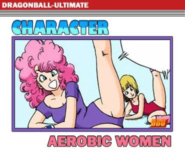 Les filles de l'aérobic