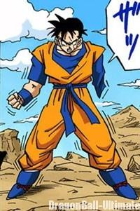 Son Gohan du futur dans le manga