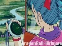 Bulma à la recherche d'un Dragon Ball