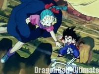 Gokū saute au secours de Bulma