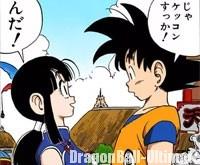 Gokū accepte d'épouser Chichi