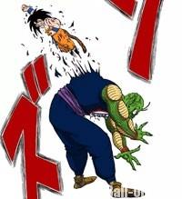 Gokū transperce Piccolo Daimaō