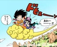 Gokū fait la connaissance de Chichi