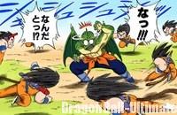 Gokū est trop rapide pour Tambourine