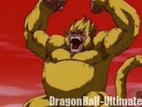 Son Gokū singe géant doré
