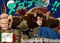 Gokū se transforme en singe géant et détruit le château de Pilaf