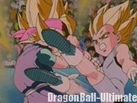 Son Gokū Jr. VS Vegeta Jr.