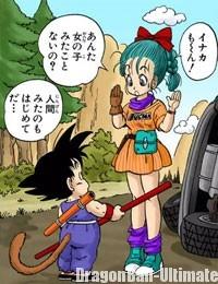 Gokū et sa rencontre avec Bulma