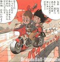 Bulma et Gokū continuent leur voyage