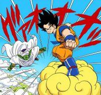 Gokū et Piccolo s'allient face à Raditz