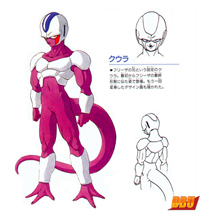 Chara design de Coola par Akira Toriyama