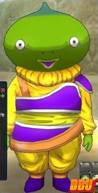 Un Yardrat vert dans Dragon Ball Online
