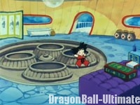 Le premier étage de la tour, dans l'épisode 061 de la série TV Dragon Ball