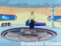 Le premier étage de la tour, dans l'épisode 064 de la série TV Dragon Ball