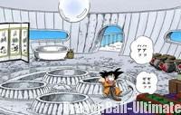 Le premier étage de la tour, dans le manga