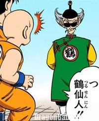 Tsuru Sennin réapparaît dans le manga
