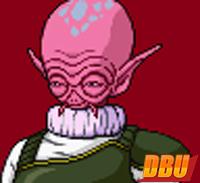 Un Yardrat dans Dragon Ball Z : Harukanaru Gokū Densetsu