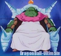 Le Grand Doyen sur son trône, dans l'anime