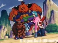 Gokū et ses amis face à l'ours brigand