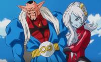 Towa et Xeno Dābura dans DB Heroes