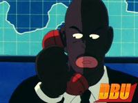 Première apparition de l'assistant Black (DB épisode 034)