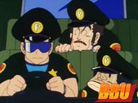 Masaharu Satō retrouve Pagos dans l'épisode 056 de Dragon Ball