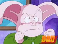 Jasmin, un cochon ressemblant à Oolong (DB épisode 149)