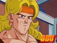 Olivu dans l'épisode 196 de la série Dragon Ball Z