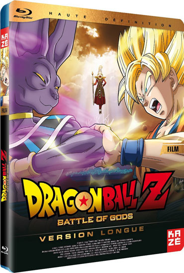 Le Blu-ray de Dragon Ball Z : Battle of Gods
