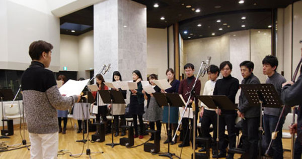 Dragon Ball Z: Revival of F recording Session