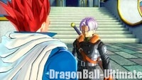 Trunks fait appel au guerrier du futur