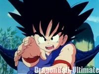 Gokū dans l'épisode 001 de Dragon Ball