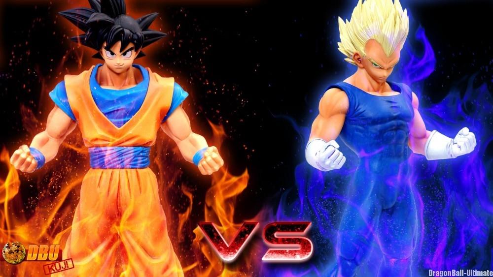 Son Gokū Master Stars Piece VS Vegeta Super Saiyan Master Stars Piece