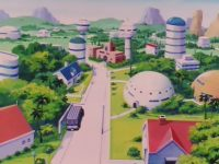 Satan City dans la série Dragon Ball Z