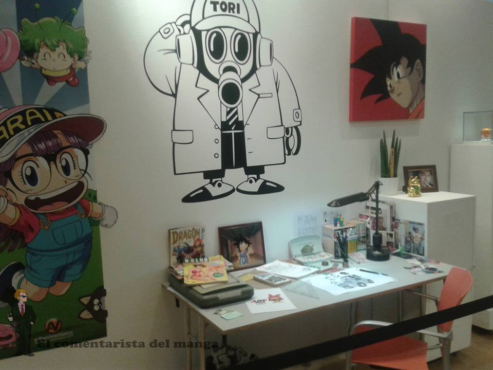 Exposition Dragon Ball Barcelone 2015 !