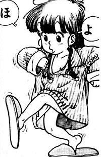 Aralé au début du manga
