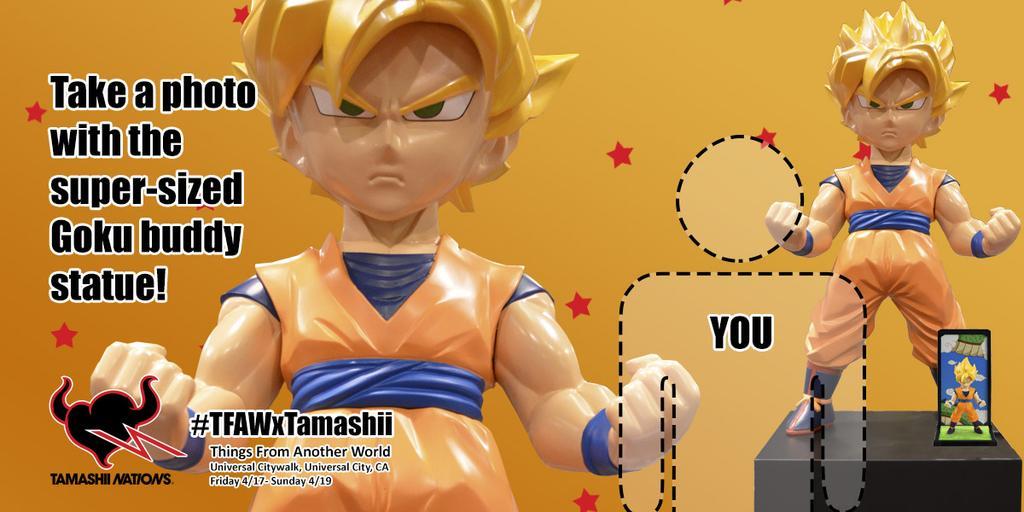 Giant Goku Tamashii Buddies